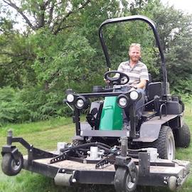 Greenkeeper Erwan Vanesse - Golf de Vannes Atlantheix