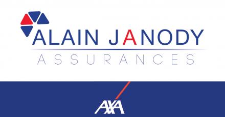 Logo Assurances AXA Alain Janody Vannes